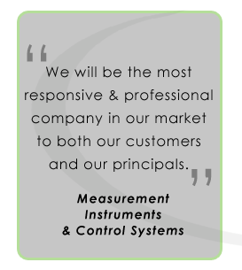 We will be the most responsive and professional company in our field.